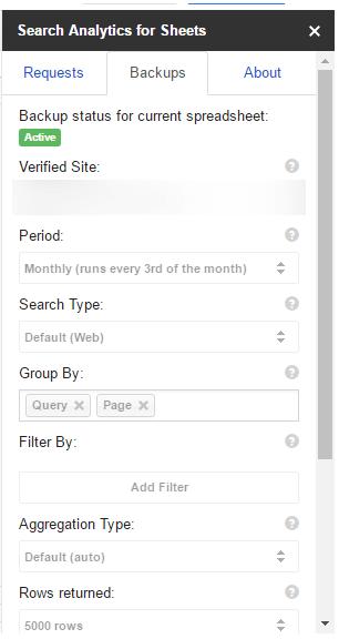 add on data analytics for sheet